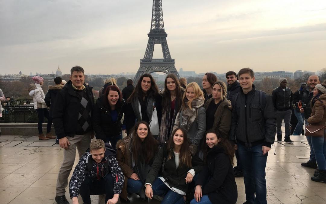Jezikovna ekskurzija v Pariz
