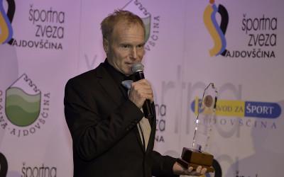 Danilo Pudgar, prejemnik priznanja za življenjsko delo