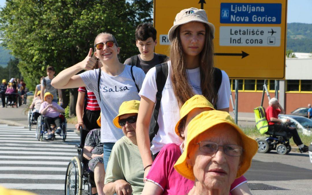 Pohod z vozički po Ajdovščini