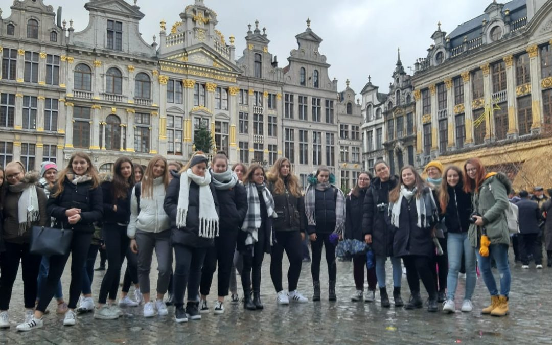 Na obisku v Bruslju