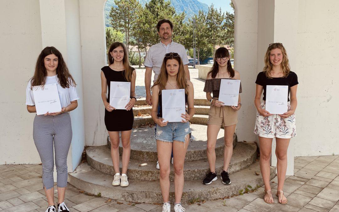 Tudi letošnja generacija maturantk in maturantov je dosegla odličen rezultat